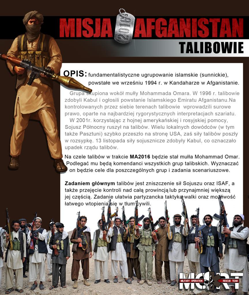 opisy stron talibowie